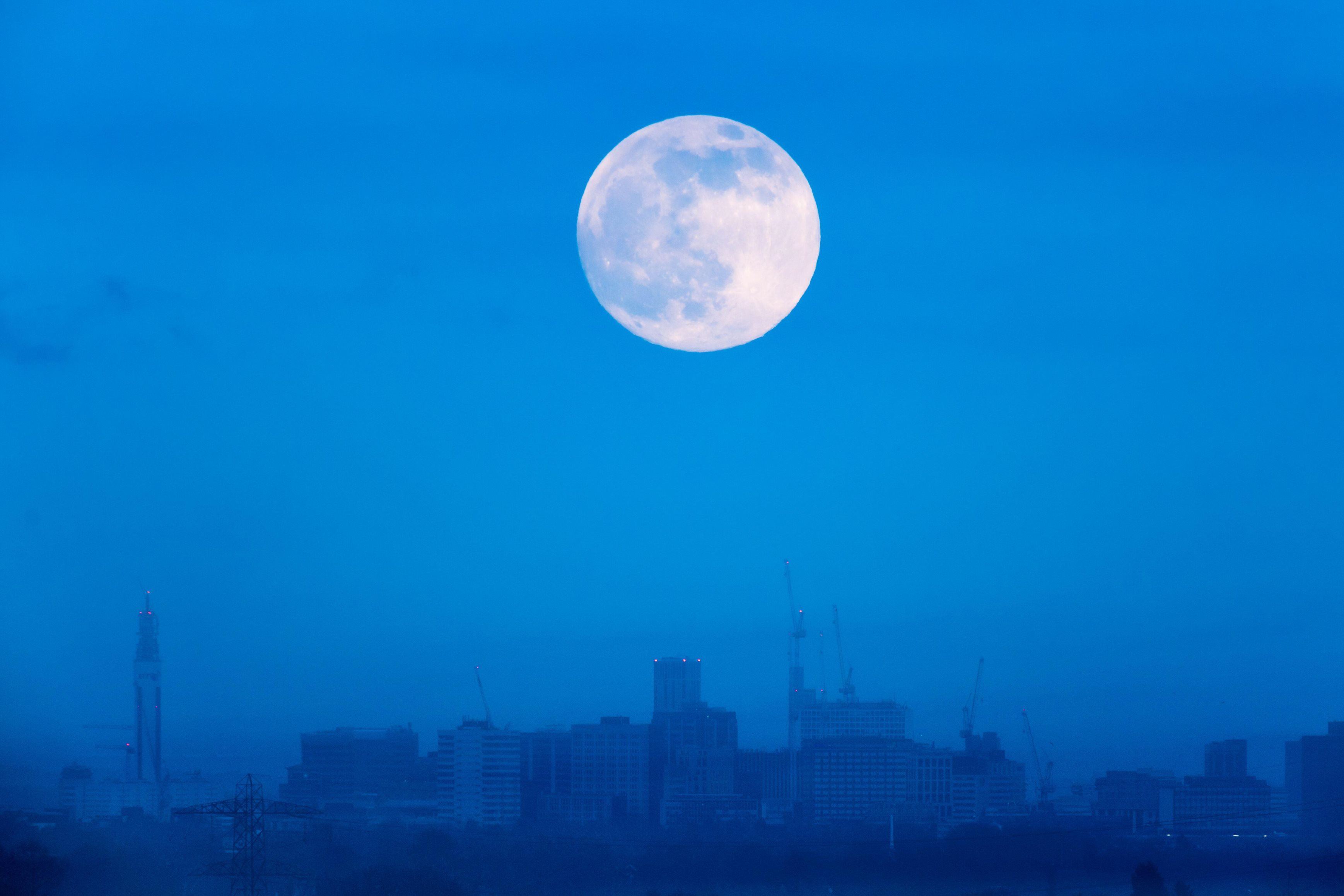 The Full Moon will appear this Saturday