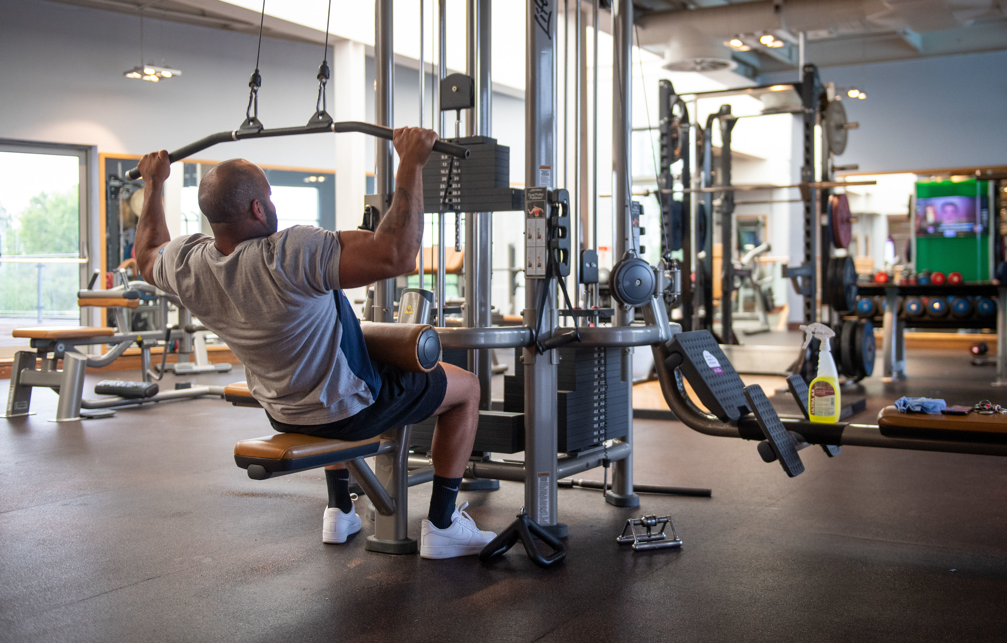 Gym-goers have a while to go yet before indoor fitness centres reopen