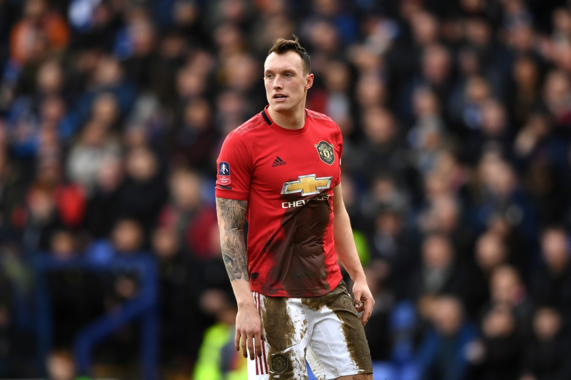 Phil Jones given hope of future at Man Utd after 'disheartening' year  through injury after knee surgery