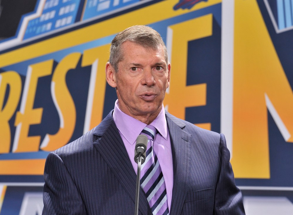 WWE boss Vince McMahon would welcome Anthony Joshua with open arms