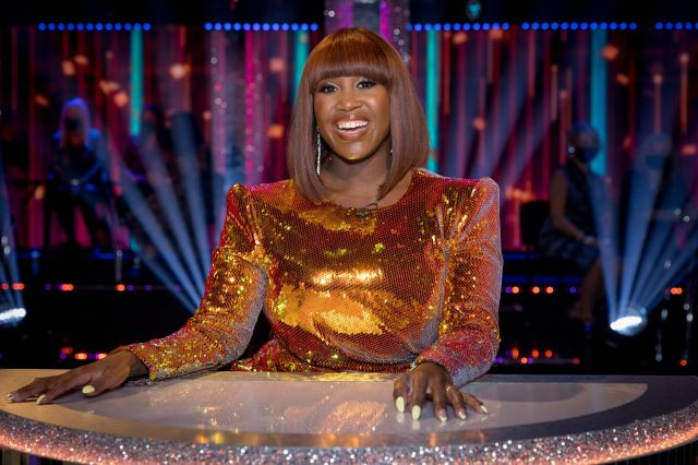 Motsi always looks glamorous on the popular BBC dance competition