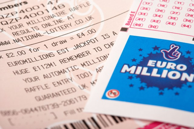The EuroMillions jackpot stands at £180m