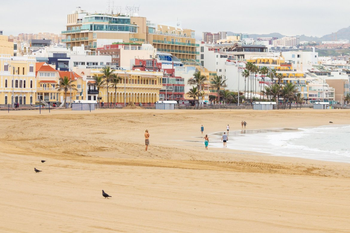Much of Spain has been left deserted due to the drop in tourism - once reaching highs of 18m Brits in 2019