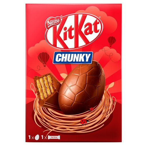 Get a KitKat Chunky Easter Egg for just 75p at Tesco - ends today