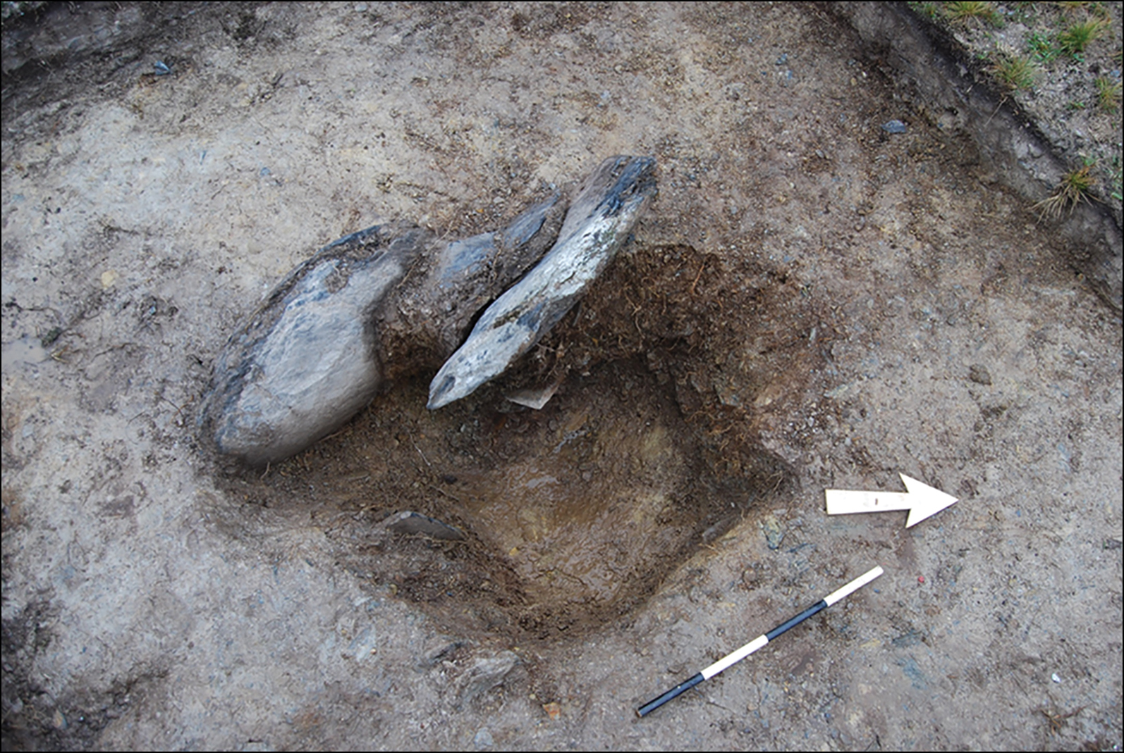 The holes are in the Preseli Hills, where the smaller 'bluestones' found at Stonehenge on Salisbury Plain are known to have come from