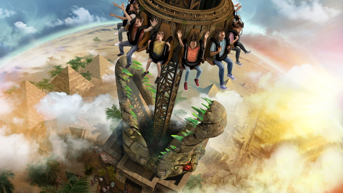 Chessington has revealed their new ride opening later this year