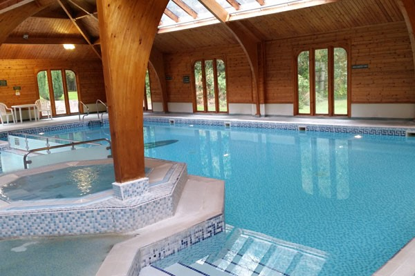 Relax and unwind at the pool or in a sauna or steam room
