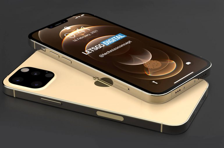 Lets Go Digital has released these iPhone 13 Pro renders