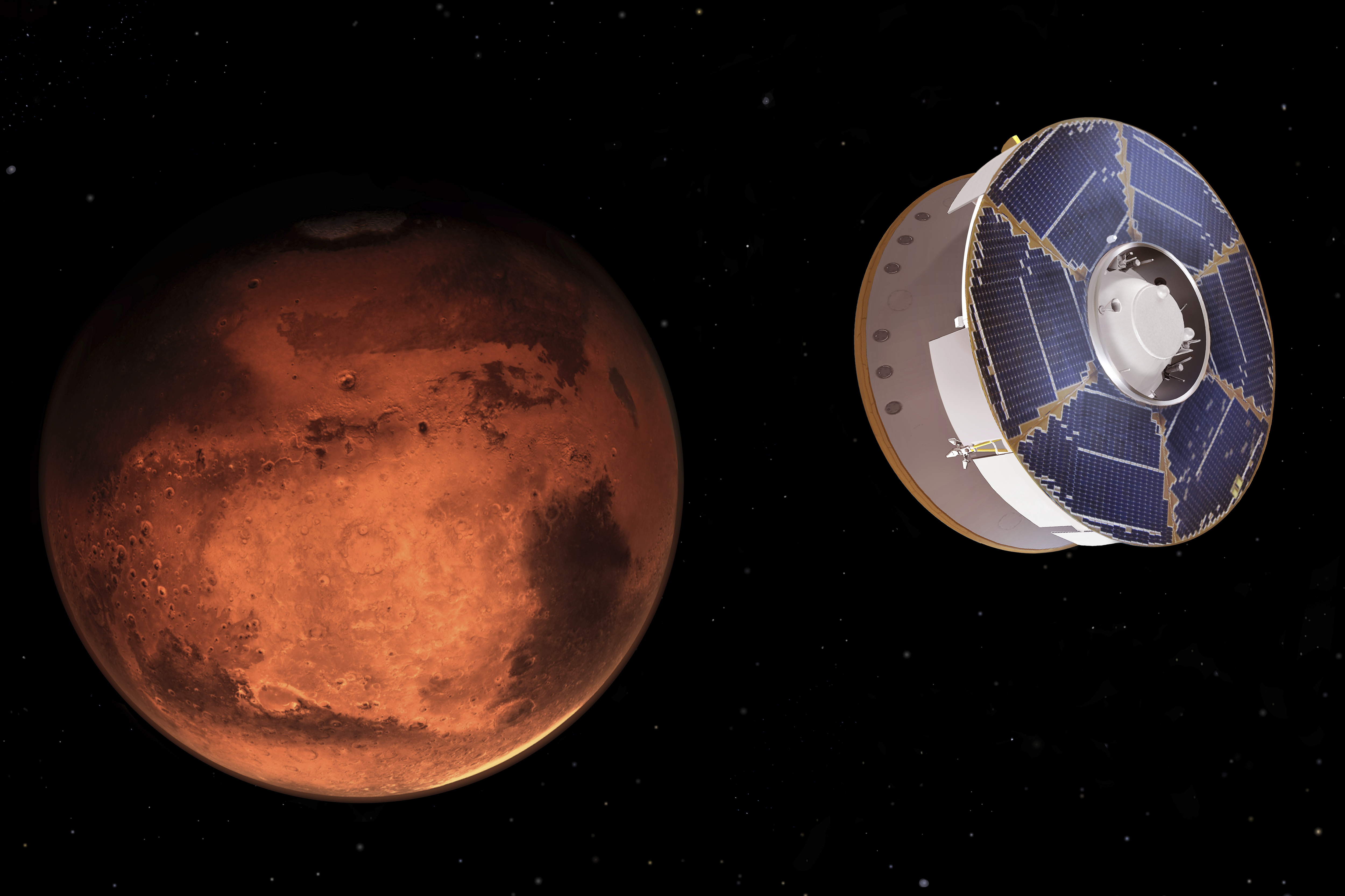 Hundreds of critical events were executed precisely on time for the rover to land on Mars safely