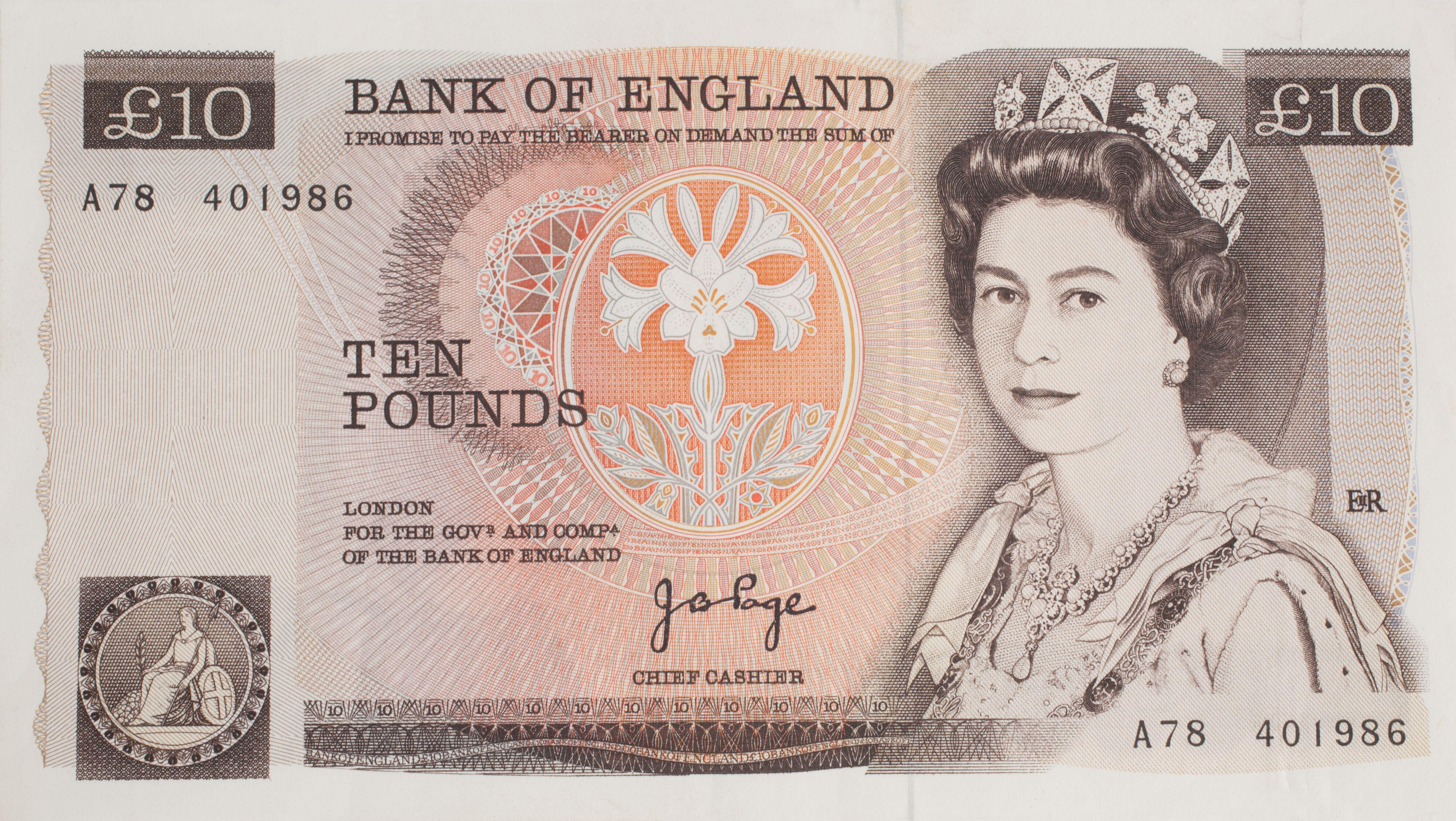 The rare banknote could sell for £26,000