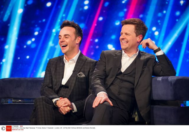 Covid restrictions means Saturday Night Takeaway could return to filming but without a live audience