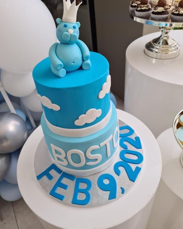 Their son Boston is one-year-old