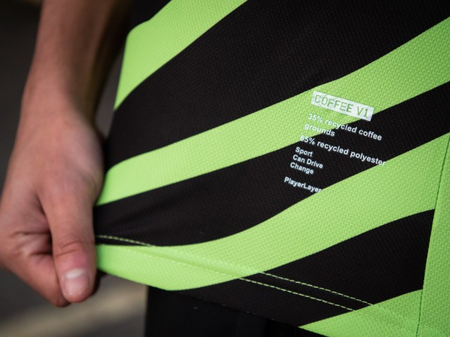 The new prototype strip also contains recycled plastic