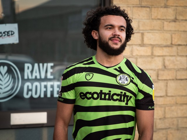 Forest Green Rovers' new eco-friendly kit is made from coffee beans