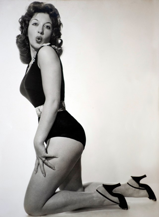 Jean was known for her work as a pin-up model