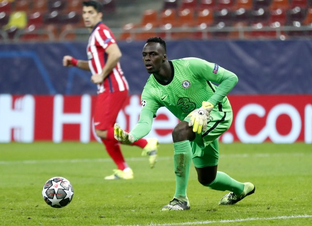 Edouard Mendy had a game to forget after nearly gifting Atletico an early opener