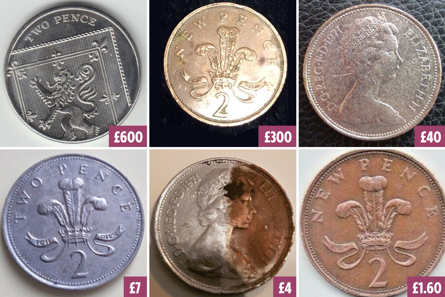 Check your pockets! We round up some of the rarest 2p coins in circulation