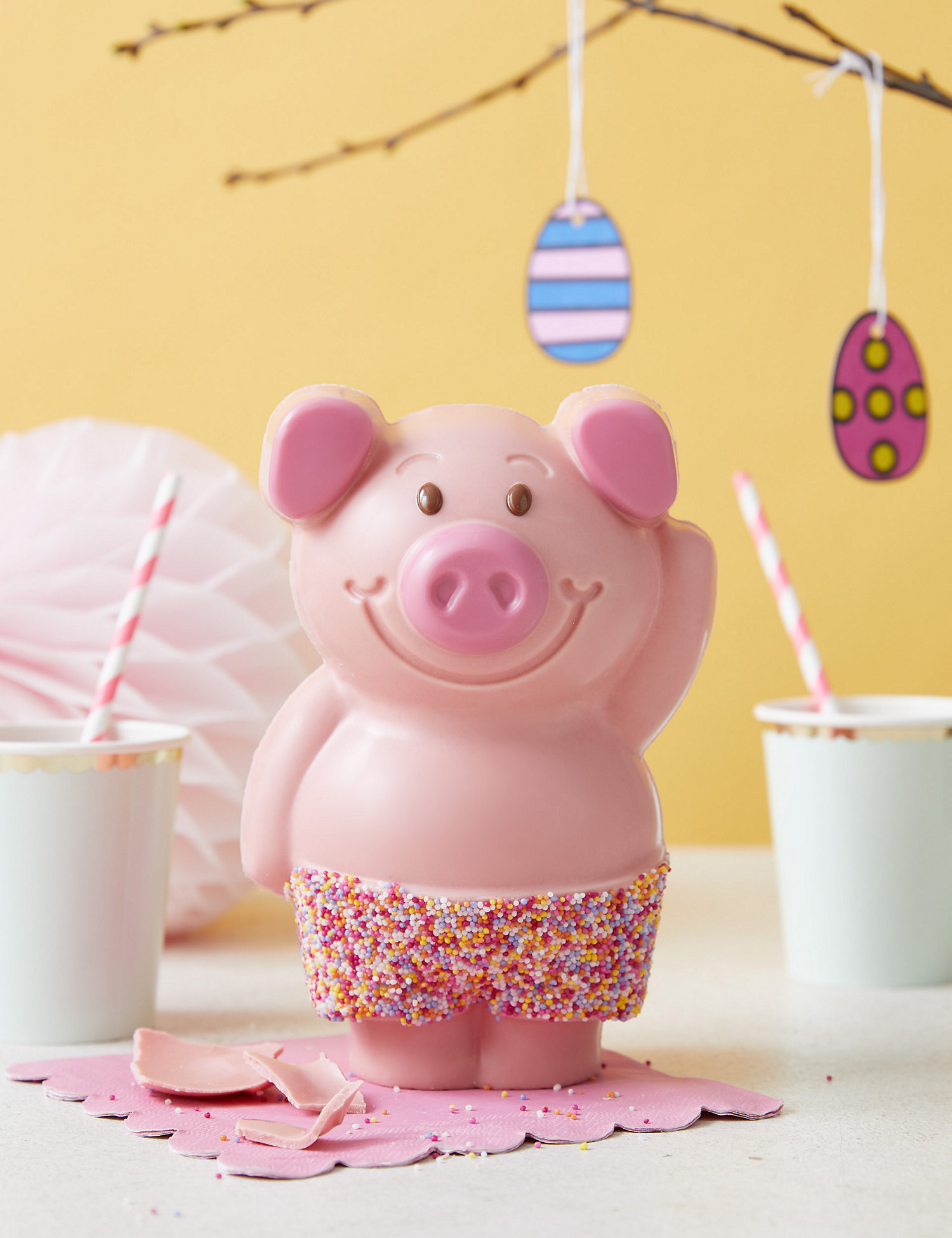 """M&S is selling a giant Percy Pig chocolate """"egg"""" for Easter"""