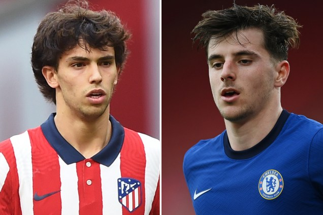 Joao Felix reveals he admires Chelsea star Mason Mount as duo prepare to face off in Champions league showdown