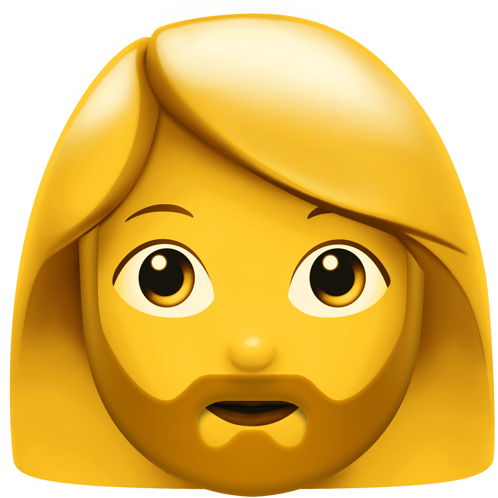 The bearded woman is coming to your iPhone