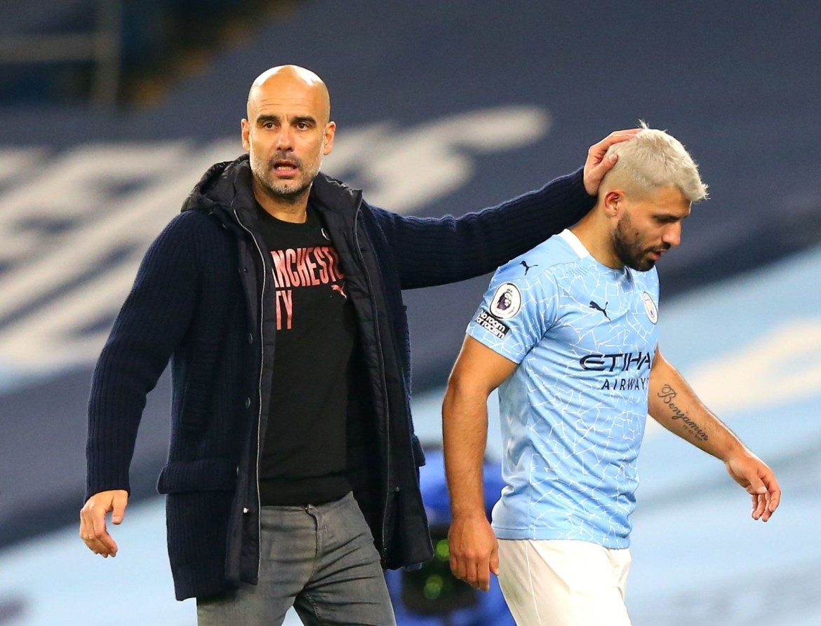Image result for Sergio Aguero has admitted his footballing future remains a mystery.