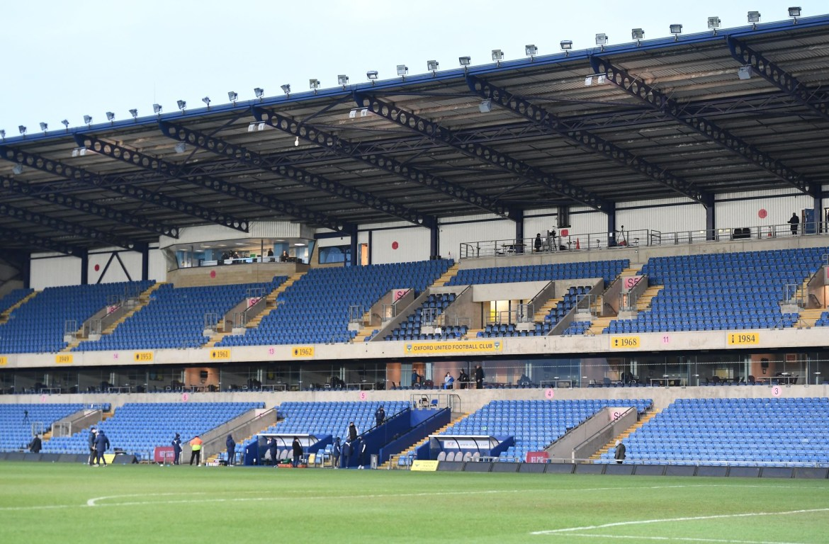 Image result for Oxford vs Wigan suspended and stadium evacuated after fire in the floodlights