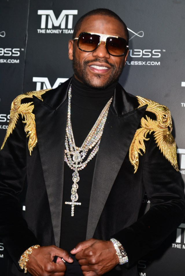 Floyd Mayweather celebrated his birthday in style