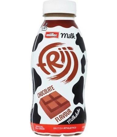 A Muller Frijj chocolate milkshake is now 75p at Morrisons