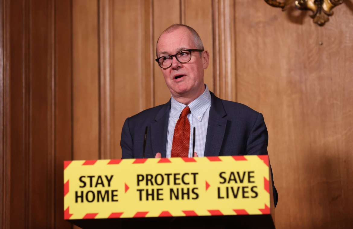 The Government's chief scientific adviser Sir Patrick Vallance supported Professor Whitty's views and told the committee a 'zero Covid' strategy was not possible