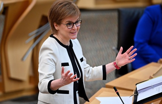 And he's been quizzed on whether he'll simply be 'Nicola Sturgeon's worst nightmare'