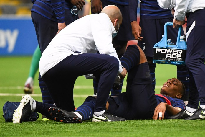 Anthony Martial is a major doubt for France