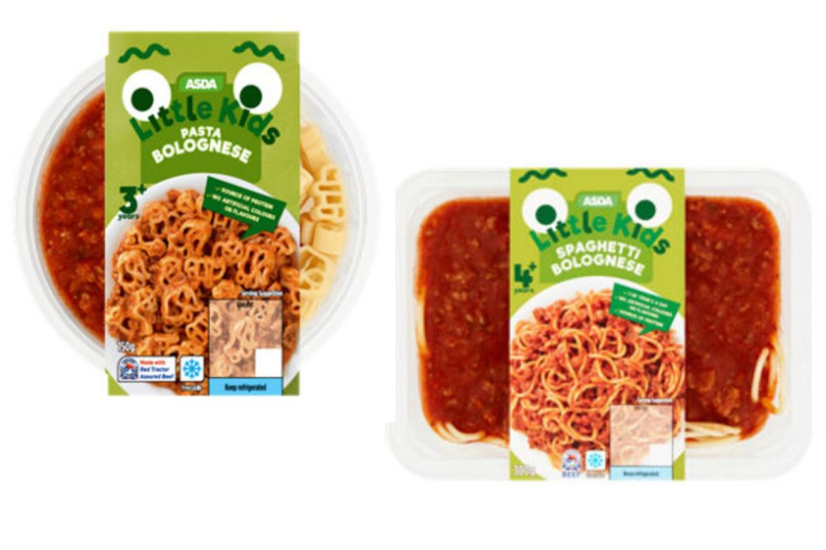 Asda is recalling these products over fears they contain pieces of blue rubber