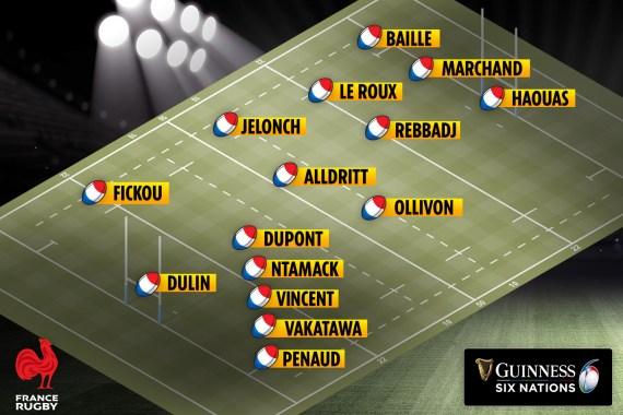 France XV to face Scotland