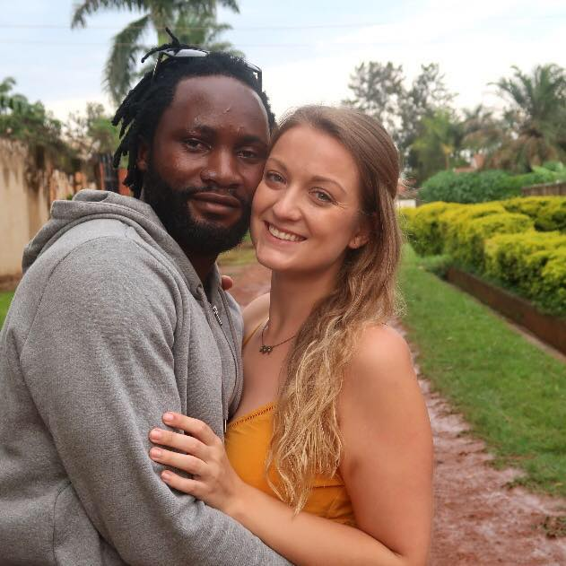 In August 2016, she moved back to Uganda and met a man Josh, 33, who moved in with Adam and herself