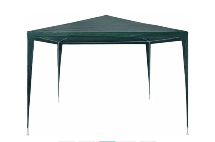 This gazebo was more expensive at £34.99