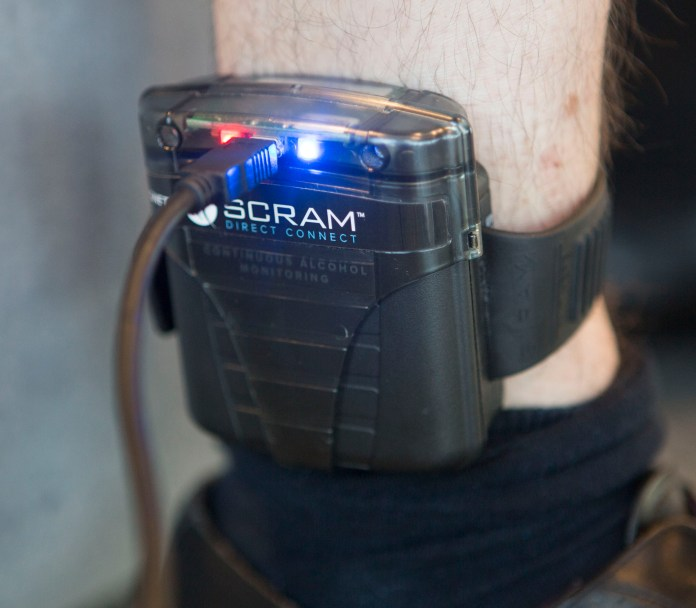 Boozy offenders will be fitted with hi-tech sobriety tags to stop them from drinking