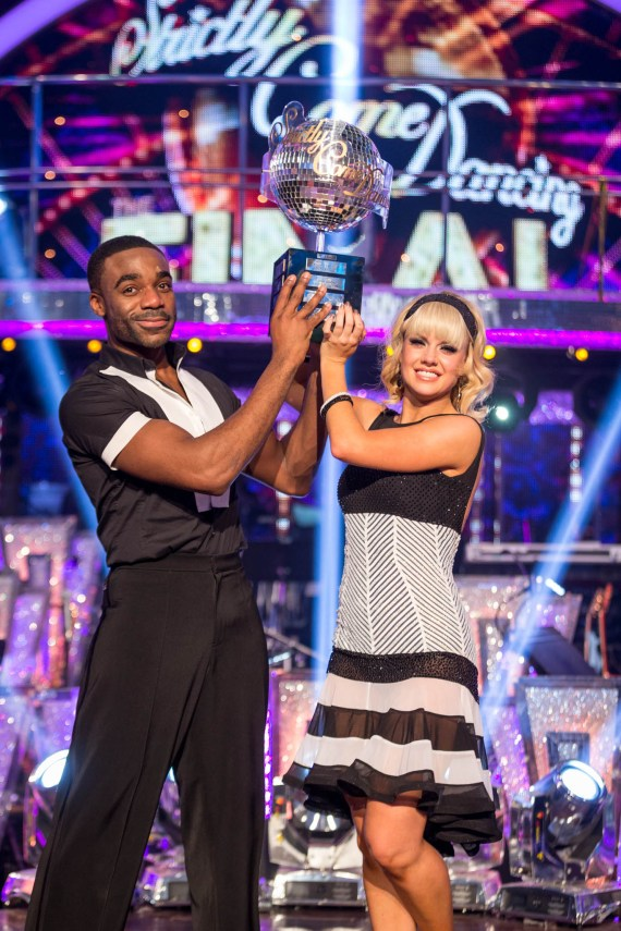 Ore shot to fame when he won Strictly in 2018