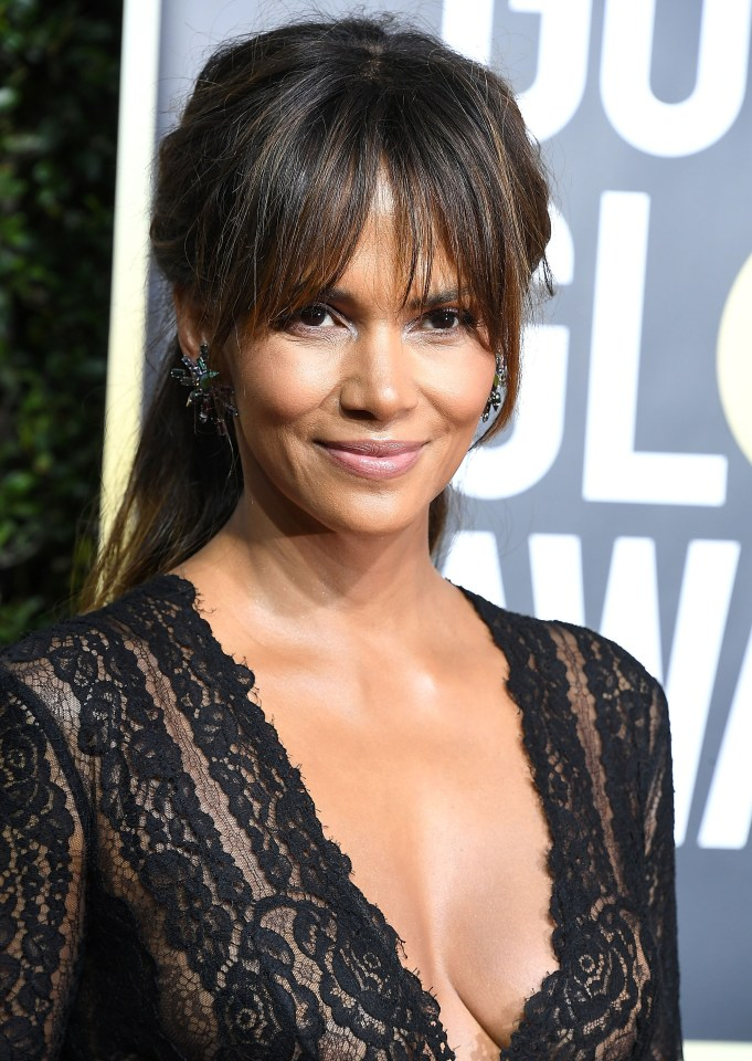 Berry arrives at the 75th Annual Golden Globe Awardsin 2018