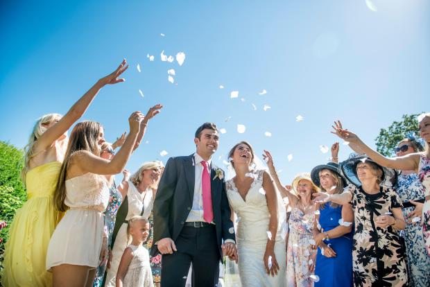 Weddings can now host up to six guests
