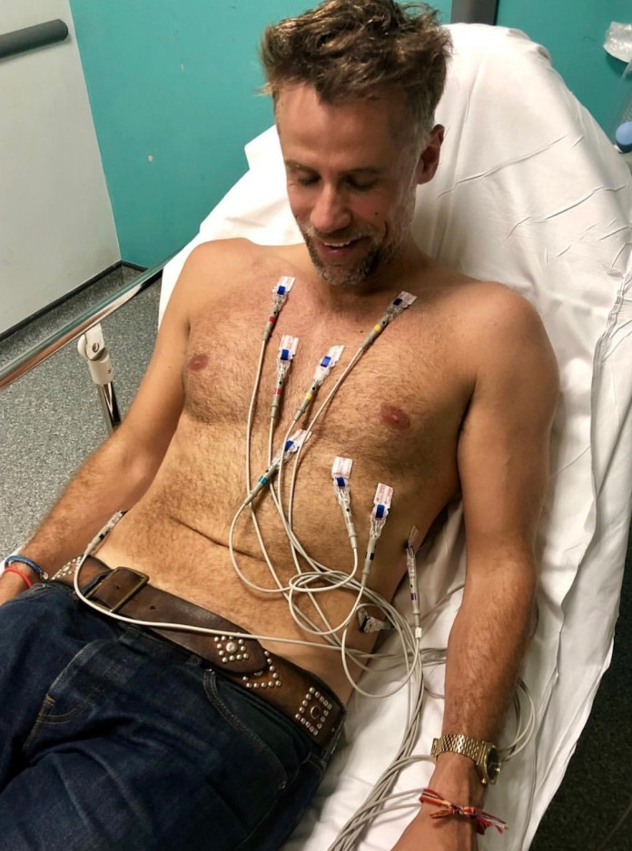 In 2018 Richard fell ill on a flight from the US and was put in an induced coma after he failed to respond to treatment for pneumonia