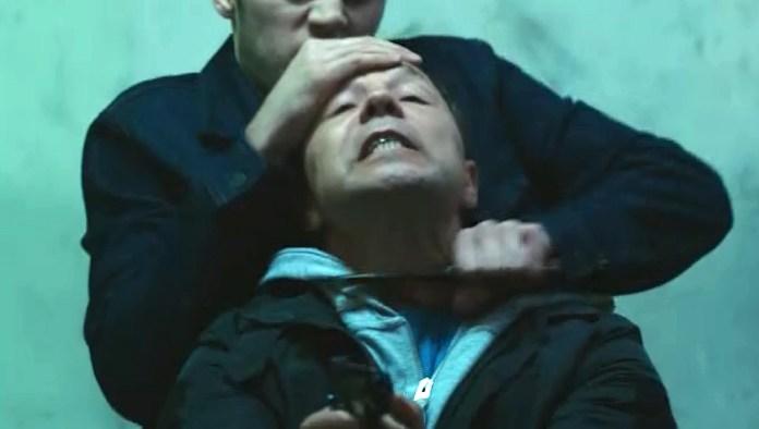 Ryan cuts DS Corbett's throat in series five