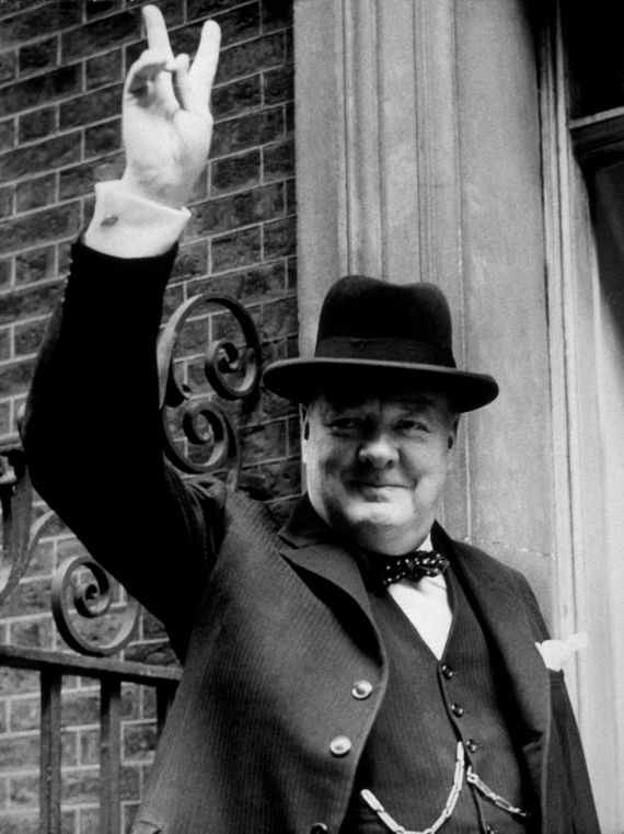 We should be proud Winston Churchill stood up to Hitler and his fascist dreams