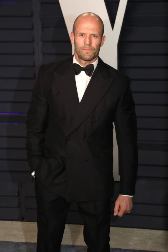 Fast & Furious star Jason Statham was in third place, with 7.4million results