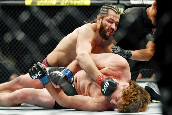 The YouTuber repeatedly played the clip of Askren being knocked out in five seconds by Jorge Masvidal