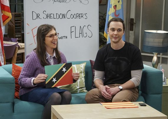 The Big Bang Theory's Mayim Bialik posted a video of bloopers from the show to honour Jim parson's birthday