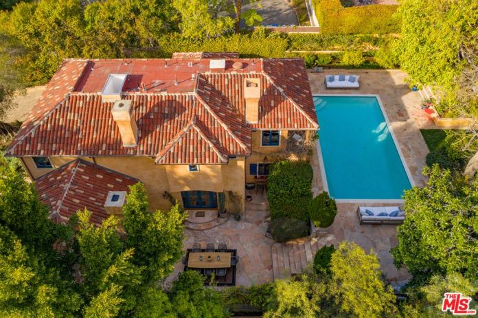 Richard lives with his two children and wife Rebecca in a £4.3million LA mansion
