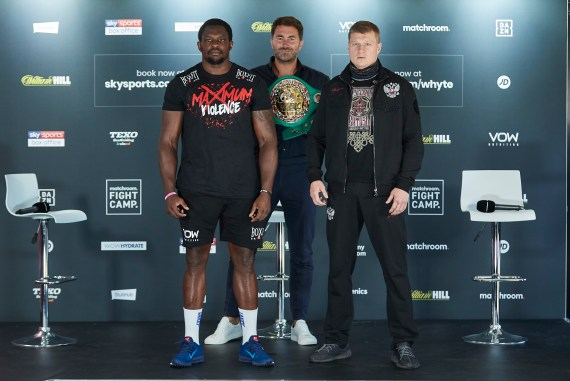 Dillian Whyte and Alexander Povetkin rematch on PPV