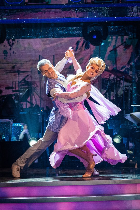 Maisie danced with Gorka Marquez on the BBC show