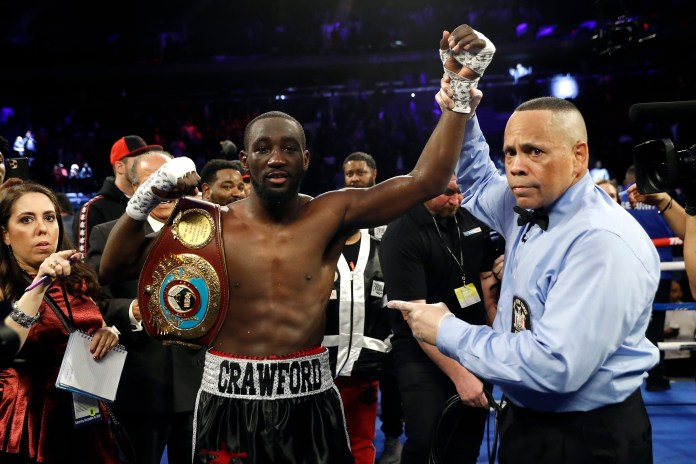 Terence Crawford is in talks for the biggest fight of his career to date