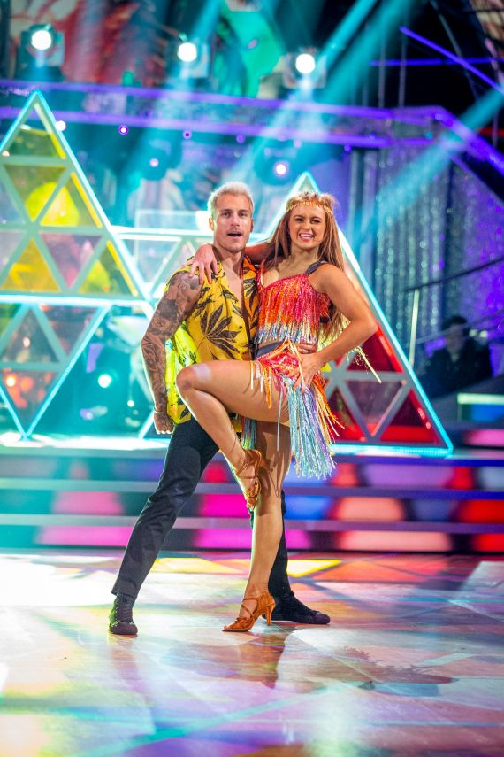 They both competed on last year's Strictly